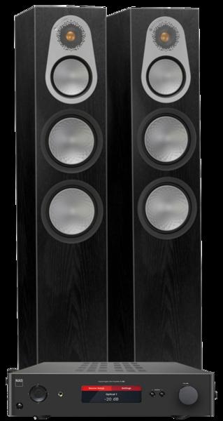 Pachete PROMO STEREO Pachet PROMO Monitor Audio Silver 500 + NAD C368Pachet PROMO Monitor Audio Silver 500 + NAD C368