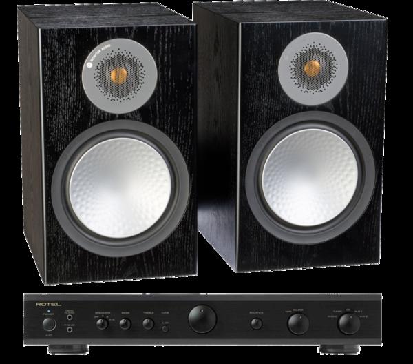Pachete PROMO STEREO Pachet PROMO Monitor Audio Silver 100 + Rotel A-10Pachet PROMO Monitor Audio Silver 100 + Rotel A-10