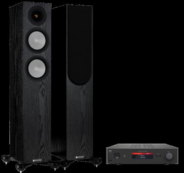 Pachete PROMO STEREO Pachet PROMO Monitor Audio Silver 200 (7G) + NAD C 368Pachet PROMO Monitor Audio Silver 200 (7G) + NAD C 368