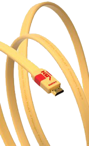 Cabluri video Cablu Van den Hul The VDH Flat Heac HDMICablu Van den Hul The VDH Flat Heac HDMI