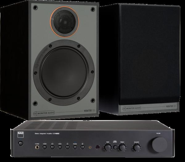 Pachete PROMO STEREO Pachet PROMO Monitor Audio Monitor 100 Black Cone + NAD C316BEE V2Pachet PROMO Monitor Audio Monitor 100 Black Cone + NAD C316BEE V2