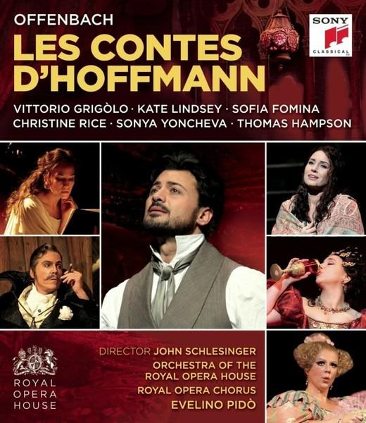 DVD & Bluray BLURAY Universal Records Offenbach: Les Contes D'Hoffmann ( Grigolo, Pido )BLURAY Universal Records Offenbach: Les Contes D'Hoffmann ( Grigolo, Pido )