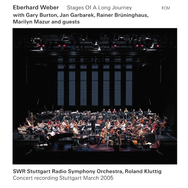 Muzica CD CD ECM Records Eberhard Weber: Stages Of A Long JourneyCD ECM Records Eberhard Weber: Stages Of A Long Journey