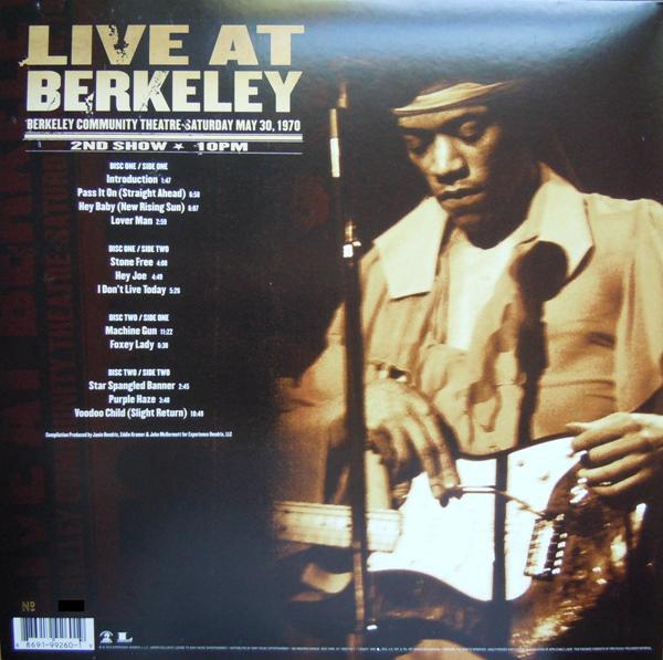 Viniluri VINIL Universal Records The Jimi Hendrix Experience - Live At BerkeleyVINIL Universal Records The Jimi Hendrix Experience - Live At Berkeley