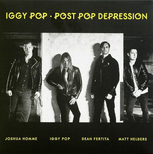 Viniluri VINIL Universal Records Iggy Pop - Post Pop DepressionVINIL Universal Records Iggy Pop - Post Pop Depression