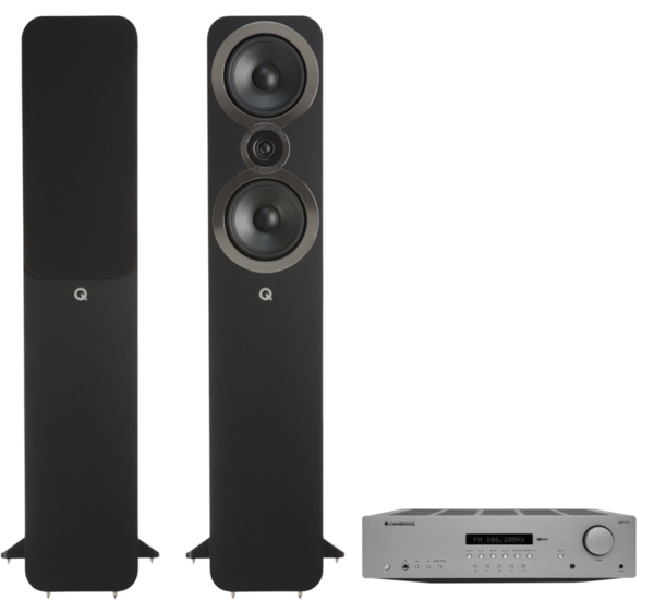 Pachete PROMO STEREO Pachet PROMO Q Acoustics 3050i + Cambridge Audio AXR100Pachet PROMO Q Acoustics 3050i + Cambridge Audio AXR100