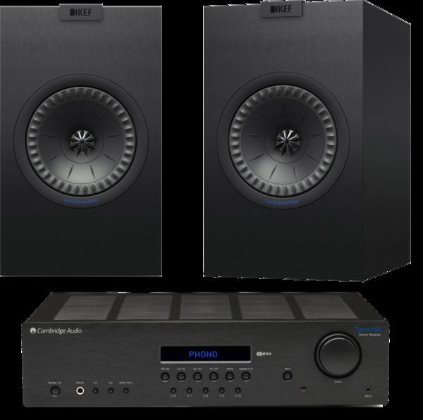 Pachete PROMO STEREO Pachet PROMO KEF Q150 + Cambridge Audio Topaz SR20Pachet PROMO KEF Q150 + Cambridge Audio Topaz SR20