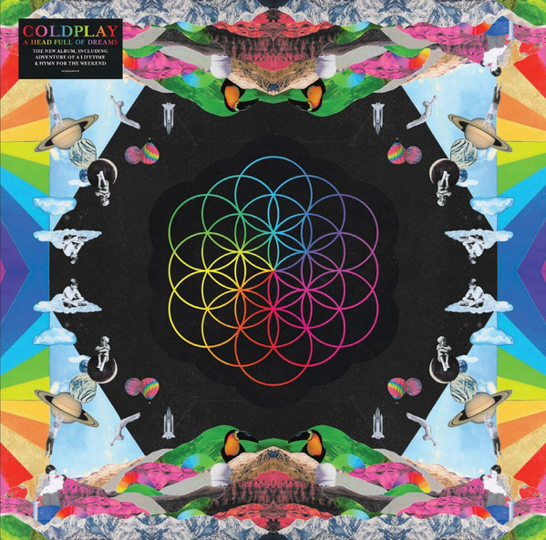 Viniluri VINIL Universal Records Coldplay - A Head Full Of DreamsVINIL Universal Records Coldplay - A Head Full Of Dreams