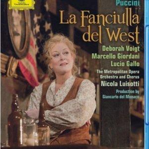 DVD & Bluray BLURAY Deutsche Grammophon (DG) Puccini - La Fanciulla Del West ( Voigt, Giordani, Luisotti, MET )BLURAY Deutsche Grammophon (DG) Puccini - La Fanciulla Del West ( Voigt, Giordani, Luisotti, MET )