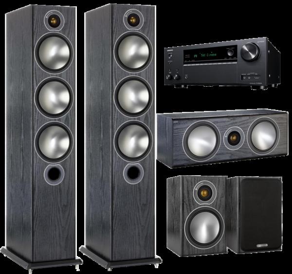 Pachete PROMO SURROUND Pachet PROMO Monitor Audio Bronze 6 pachet 5.0 + Onkyo TX-NR 696Pachet PROMO Monitor Audio Bronze 6 pachet 5.0 + Onkyo TX-NR 696