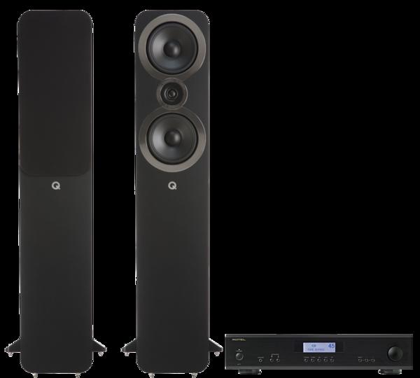 Pachete PROMO STEREO Pachet PROMO Q Acoustics 3050i + Rotel A-11Pachet PROMO Q Acoustics 3050i + Rotel A-11