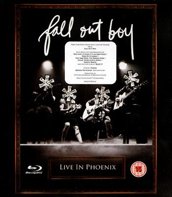 DVD & Bluray BLURAY Universal Records Fall Out Boy - Live In PhoenixBLURAY Universal Records Fall Out Boy - Live In Phoenix