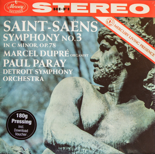 Viniluri VINIL Mercury Saint -Sains - Symphony No 3 In C Minor Op 78 (Paray, Dupre, Detroit Symphony Orchestra)VINIL Mercury Saint -Sains - Symphony No 3 In C Minor Op 78 (Paray, Dupre, Detroit Symphony Orchestra)