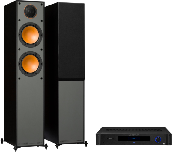 Pachete PROMO STEREO Pachet PROMO Monitor Audio Monitor 200 + Emotiva BasX TA-100Pachet PROMO Monitor Audio Monitor 200 + Emotiva BasX TA-100