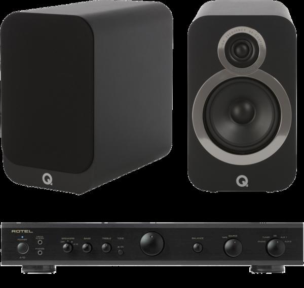 Pachete PROMO STEREO Pachet PROMO Q Acoustics 3020i + Rotel A-10Pachet PROMO Q Acoustics 3020i + Rotel A-10