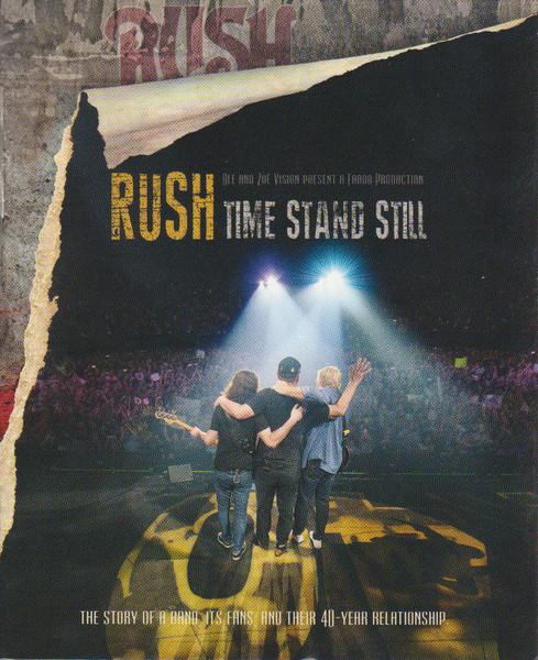 DVD & Bluray BLURAY Universal Records Rush - Time Stand StillBLURAY Universal Records Rush - Time Stand Still