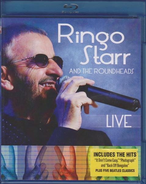 DVD & Bluray BLURAY Universal Records Ringo Starr And The Roundheads - LiveBLURAY Universal Records Ringo Starr And The Roundheads - Live