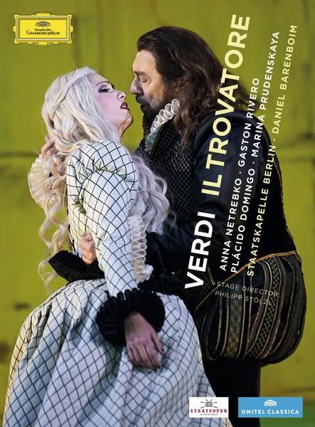 DVD & Bluray DVD Deutsche Grammophon (DG) Verdi: Il Trovatore -  (Barenboim, Rivero, Sampetrean, Netrebko )DVD Deutsche Grammophon (DG) Verdi: Il Trovatore -  (Barenboim, Rivero, Sampetrean, Netrebko )