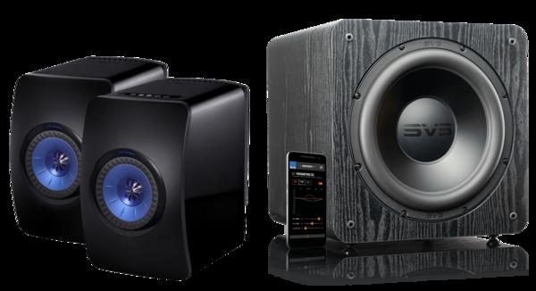 Pachete PROMO STEREO Pachet PROMO KEF LS50 Wireless + SVS SB-2000 PROPachet PROMO KEF LS50 Wireless + SVS SB-2000 PRO