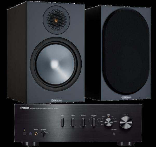 Pachete PROMO STEREO Pachet PROMO Monitor Audio Bronze 100 + Yamaha A-S501Pachet PROMO Monitor Audio Bronze 100 + Yamaha A-S501