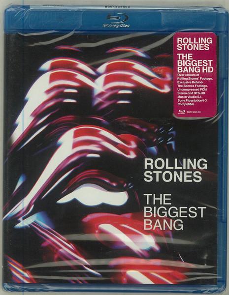 DVD & Bluray BLURAY Universal Records The Rolling Stones - The Biggest BangBLURAY Universal Records The Rolling Stones - The Biggest Bang