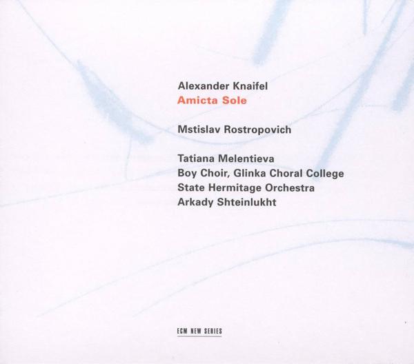 Muzica CD CD ECM Records Ivan Monighetti, Tatiana Melentieva - Alexander Knaifel: BlazhenstvaCD ECM Records Ivan Monighetti, Tatiana Melentieva - Alexander Knaifel: Blazhenstva