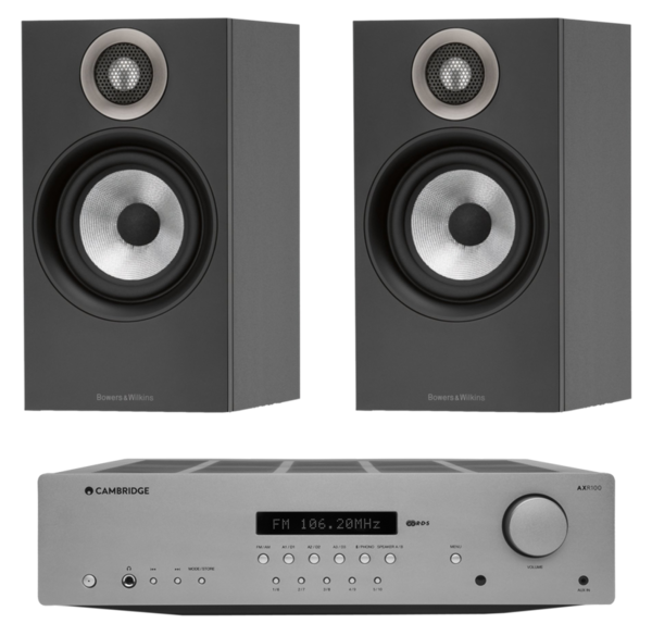Pachete PROMO STEREO Pachet PROMO Bowers & Wilkins 607 + Cambridge Audio AXR100Pachet PROMO Bowers & Wilkins 607 + Cambridge Audio AXR100