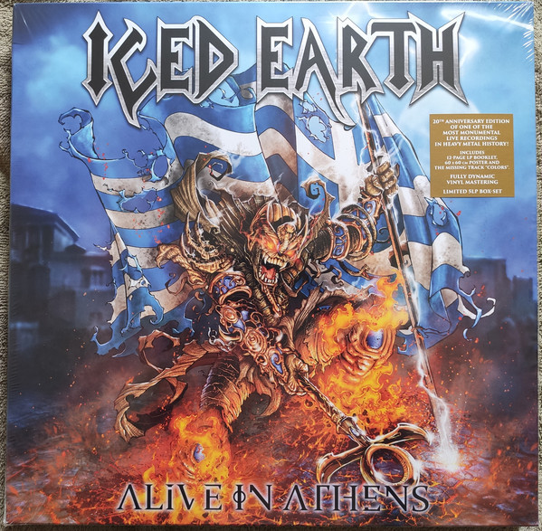 Viniluri VINIL Universal Records Iced Earth - Alive In AthensVINIL Universal Records Iced Earth - Alive In Athens