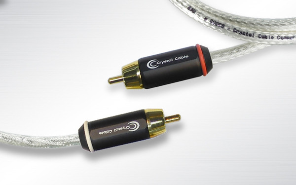 Cabluri audio Cablu Crystal Cable CrystalConnect Special Copper RCA 1mCablu Crystal Cable CrystalConnect Special Copper RCA 1m