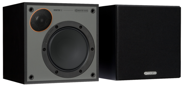 Boxe Boxe Monitor Audio Monitor 50 Black Cone Negru ResigilatBoxe Monitor Audio Monitor 50 Black Cone Negru Resigilat