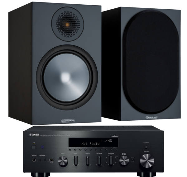 Pachete PROMO STEREO Pachet PROMO Monitor Audio Bronze 100 + Yamaha R-N602Pachet PROMO Monitor Audio Bronze 100 + Yamaha R-N602