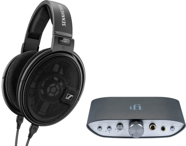 Pachete PROMO Casti si AMP Pachet PROMO Sennheiser HD 660 S + iFi Audio ZEN CANPachet PROMO Sennheiser HD 660 S + iFi Audio ZEN CAN