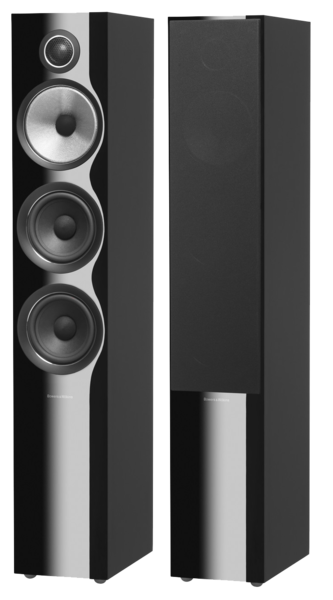 Boxe Boxe Bowers & Wilkins 704 S2 Piano Black Gloss ResigilatBoxe Bowers & Wilkins 704 S2 Piano Black Gloss Resigilat