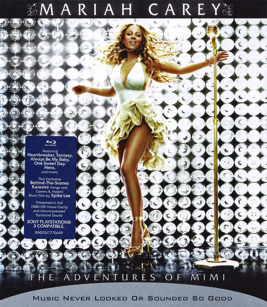 DVD & Bluray BLURAY Universal Records Mariah Carey - The Adventures Of MimiBLURAY Universal Records Mariah Carey - The Adventures Of Mimi