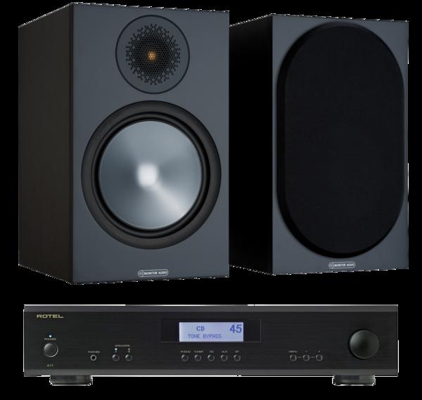 Pachete PROMO STEREO Pachet PROMO Monitor Audio Bronze 100 + Rotel A-11Pachet PROMO Monitor Audio Bronze 100 + Rotel A-11