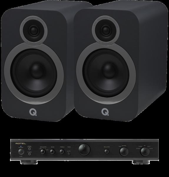 Pachete PROMO STEREO Pachet PROMO Q Acoustics 3030i + Rotel A-10Pachet PROMO Q Acoustics 3030i + Rotel A-10
