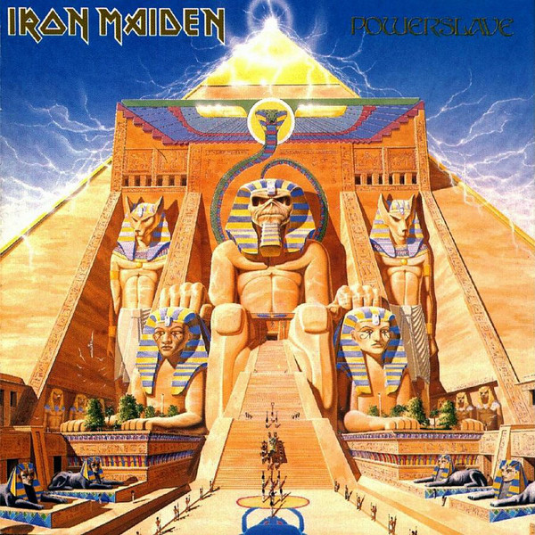 Viniluri VINIL Universal Records Iron Maiden - PowerslaveVINIL Universal Records Iron Maiden - Powerslave