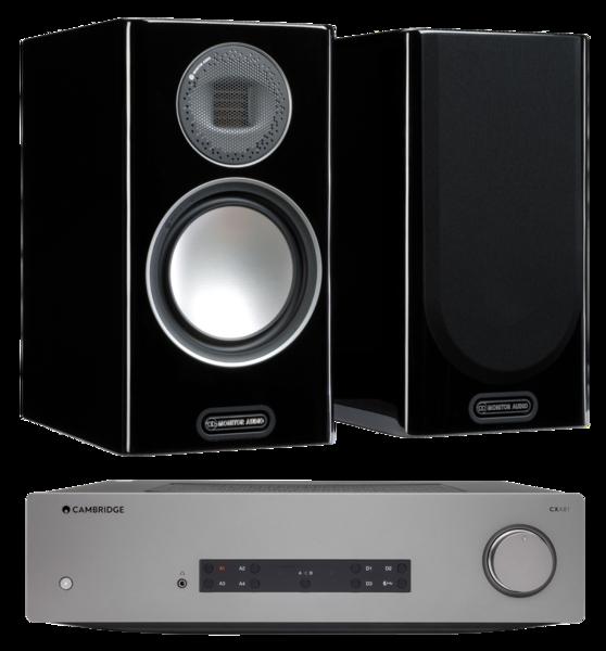 Pachete PROMO STEREO Pachet PROMO Monitor Audio Gold 100 (5G) + Cambridge Audio CXA81Pachet PROMO Monitor Audio Gold 100 (5G) + Cambridge Audio CXA81