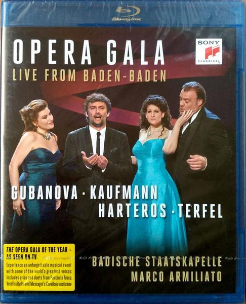 DVD & Bluray BLURAY Universal Records Gubanova, Kaufmann, Harteros, Terfel - Opera Gala - Live From Baden-BadenBLURAY Universal Records Gubanova, Kaufmann, Harteros, Terfel - Opera Gala - Live From Baden-Baden