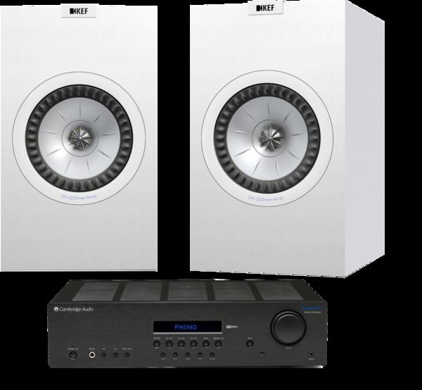Pachete PROMO STEREO Pachet PROMO KEF Q350 + Cambridge Audio Topaz SR20Pachet PROMO KEF Q350 + Cambridge Audio Topaz SR20