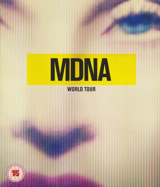 DVD & Bluray BLURAY Universal Records Madonna - MDNA World TourBLURAY Universal Records Madonna - MDNA World Tour