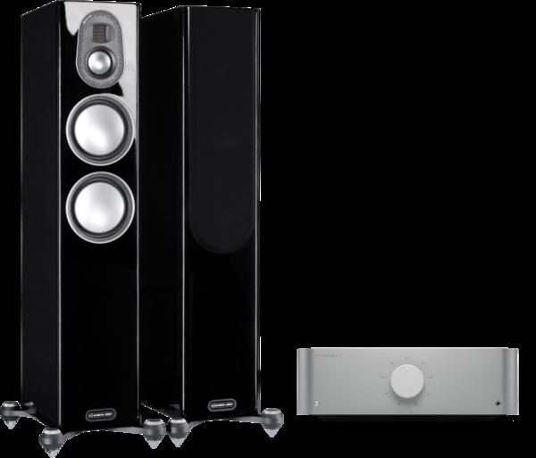 Pachete PROMO STEREO Pachet PROMO Monitor Audio Gold 200 (5G) + Cambridge Audio Edge APachet PROMO Monitor Audio Gold 200 (5G) + Cambridge Audio Edge A