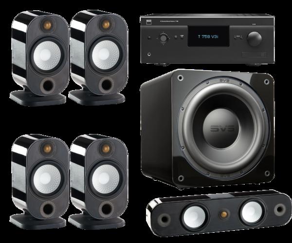 Pachete PROMO SURROUND Pachet PROMO Monitor Audio Apex 5.0 + SVS SB-3000 + NAD T 758 V3iPachet PROMO Monitor Audio Apex 5.0 + SVS SB-3000 + NAD T 758 V3i