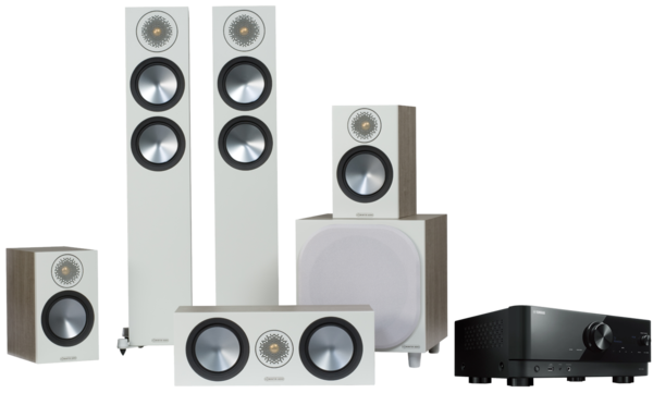 Pachete PROMO SURROUND Pachet PROMO Monitor Audio Bronze 200 pachet 5.1 + Yamaha RX-V4APachet PROMO Monitor Audio Bronze 200 pachet 5.1 + Yamaha RX-V4A