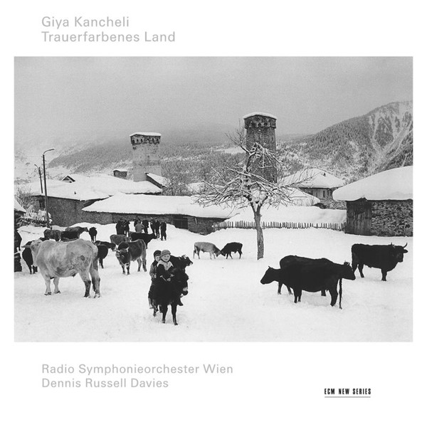 Muzica CD CD ECM Records Giya Kancheli: Trauerfarbenes LandCD ECM Records Giya Kancheli: Trauerfarbenes Land