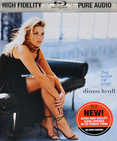 Muzica CD CD Universal Records Diana Krall - The Look Of Love BluRay AudioCD Universal Records Diana Krall - The Look Of Love BluRay Audio