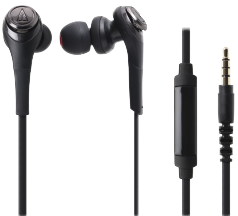 Casti  Casti In-Ear cu microfon Audio-Techinca ATH-CKS550iS, Seria SOLID BASS Casti In-Ear cu microfon Audio-Techinca ATH-CKS550iS, Seria SOLID BASS