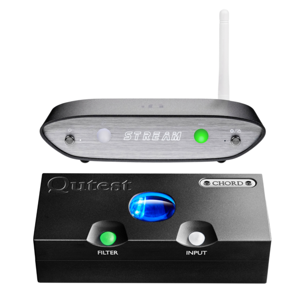 DAC-uri DAC Chord Electronics Qutest + iFi Audio ZEN StreamDAC Chord Electronics Qutest + iFi Audio ZEN Stream