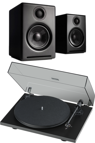Pachete PROMO STEREO Pachet PROMO Audioengine A2+ Wireless + Pro-Ject Primary Phono USB OM5EPachet PROMO Audioengine A2+ Wireless + Pro-Ject Primary Phono USB OM5E