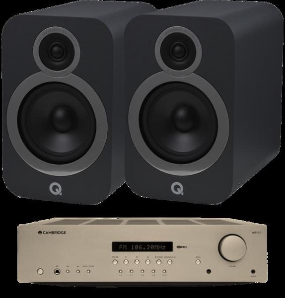 Pachete PROMO STEREO Pachet PROMO Q Acoustics 3030i + Cambridge Audio AXR85Pachet PROMO Q Acoustics 3030i + Cambridge Audio AXR85
